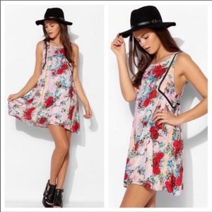 MinkPink Southern Wind Floral Dress small